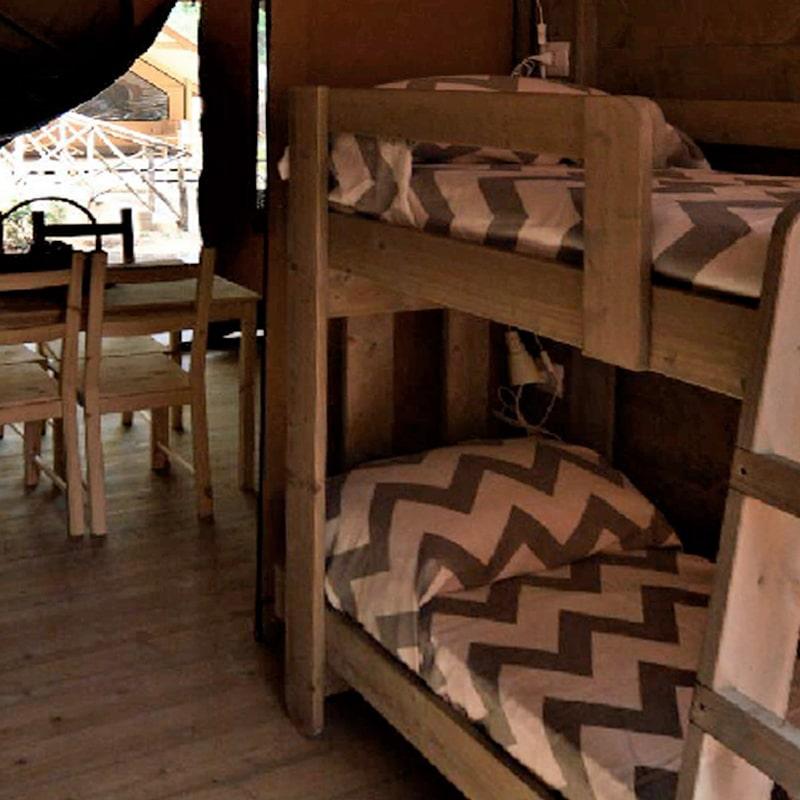 Lodges Oliva e Grano letti