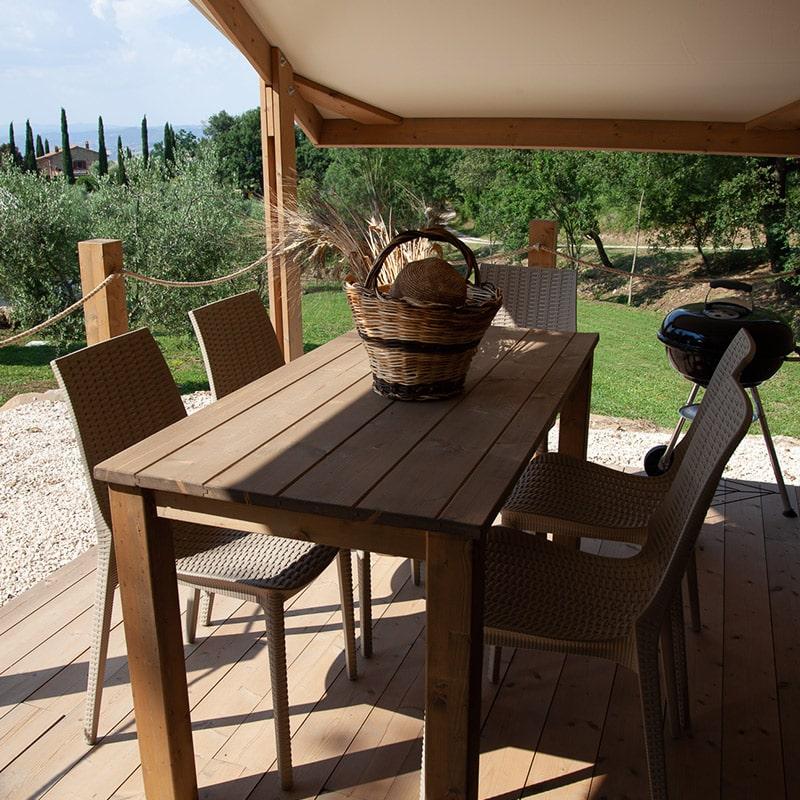 Tenda Grano veranda