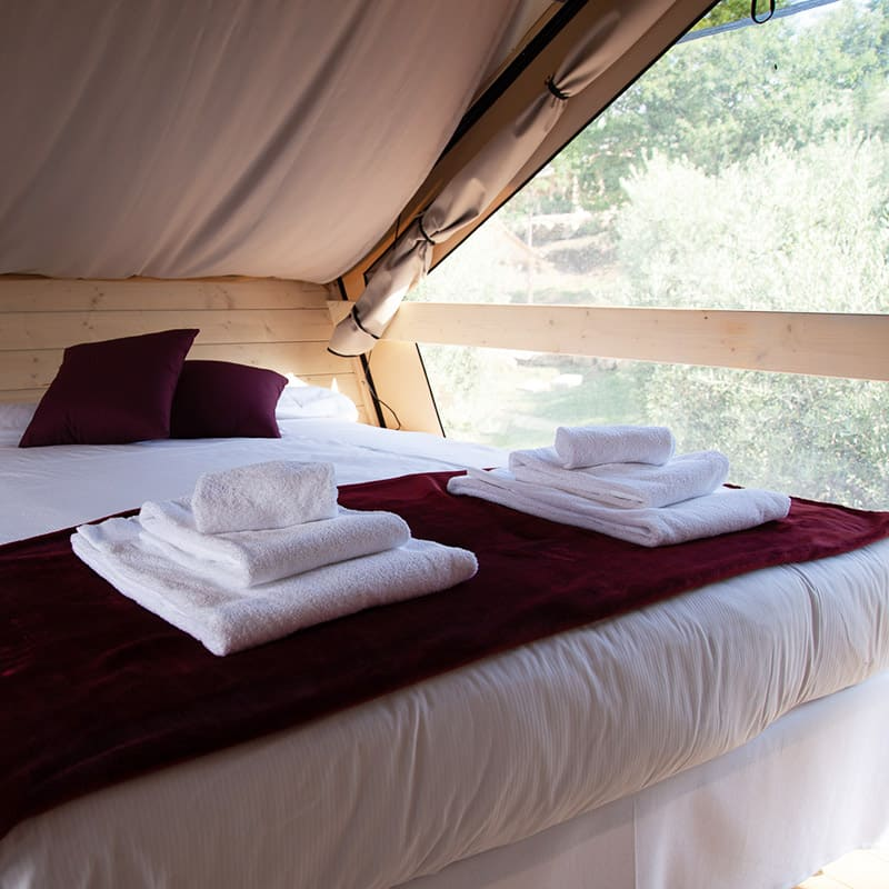 Tenda Uva camera letto matrimoniale