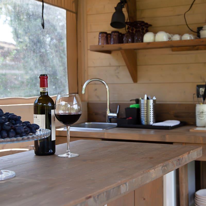 Tenda Uva cucina